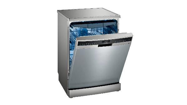 Lave-vaisselle iQ500 pose-libre 60 cm Inox SN25ZI49CE de Siemens