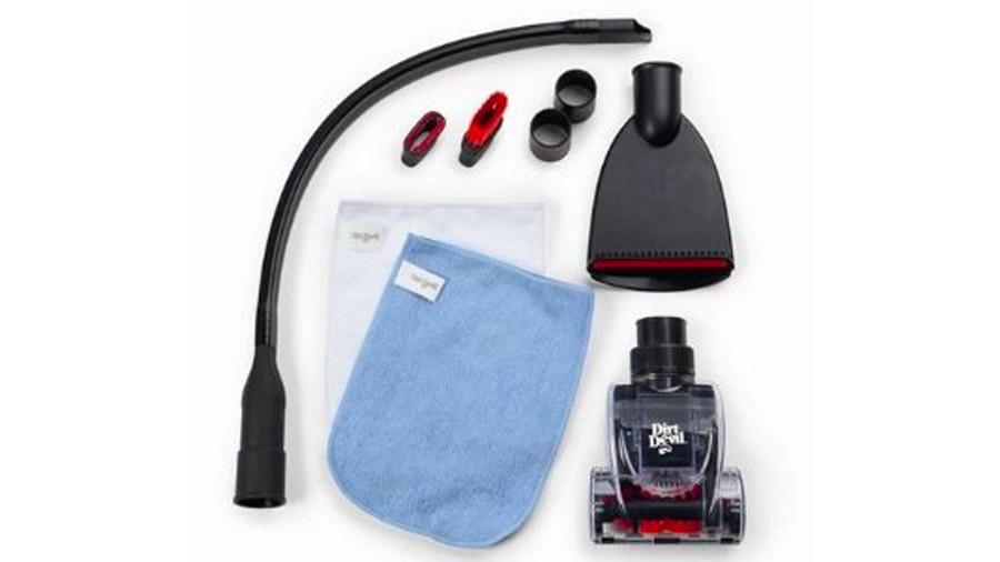 Test et avis du kit aspirateur de voiture Dirt Devil M277