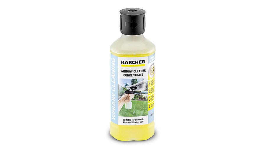 Nettoyant vitre concentré pour nettoyeur de vitre Karcher pas cher
