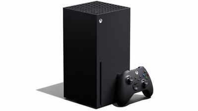 La console de jeux Xbox Series X Microsoft