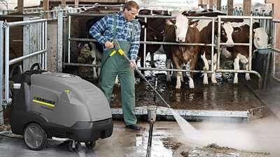 Nettoyeur haute pression à eau chaude Kärcher HDS13 20-4S-107-9270