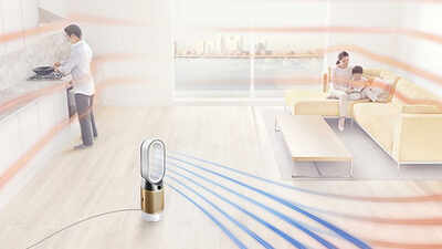 Le purificateur d'air Pure Hot+Cool Cryptomic Dyson