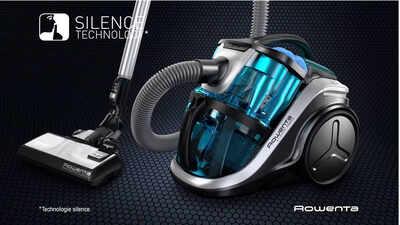 Rowenta Silence Force Multi-Cyclonic : la puissance d'un aspirateur 4A sans bruit