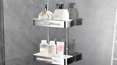 Etagères ou paniers de douches de salle de bains