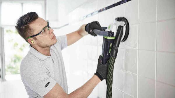 Ponceuse de rénovation 1600W RG 130E Set DIA abrasive 768978 Festool