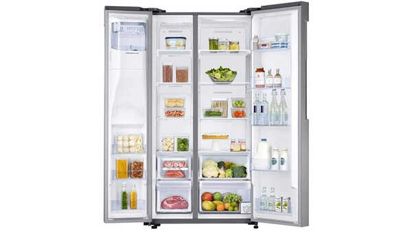 Réfrigérateur américain side by side SAMSUNG RS58K6307SL