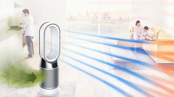Ventilateur purificateur chauffant Pure Hot+Cool Dyson
