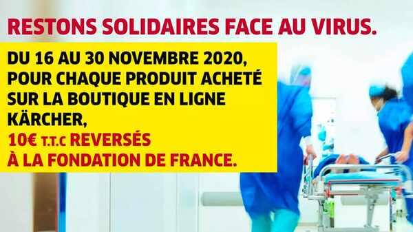 Kärcher et la Fondation de France