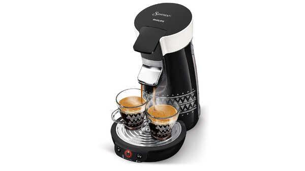 Machine à café HD6569/64 SENSEO Viva Café Ethnic Noir Philips