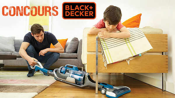 Test et avis aspirateur balai Multi Power CUA525BH BLACK+DECKER
