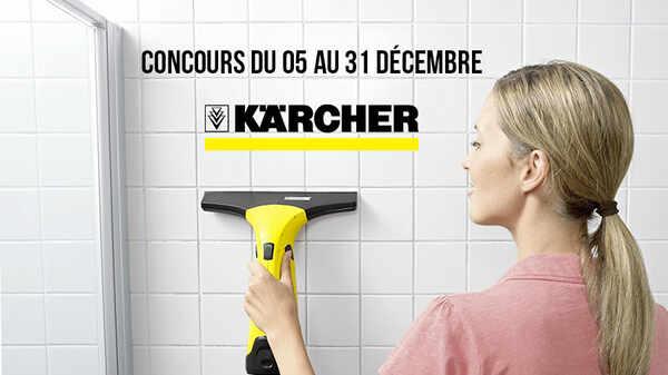 Jeu concours : Nettoyeur de vitres Kärcher WV2 Premium