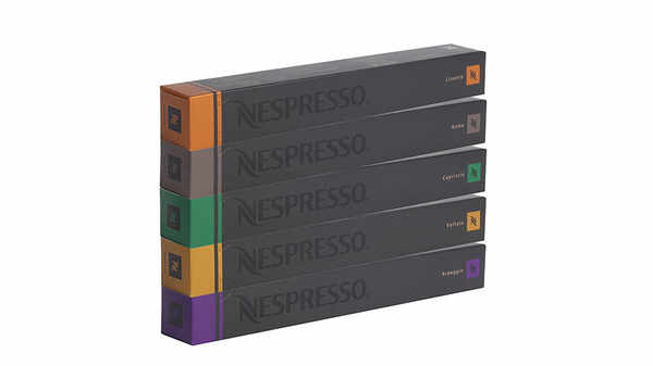 Lot de 50 capsules Nespresso pour machine à café pas cher