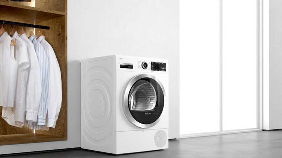Le sèche-linge pompe à chaleur BOSCH WTR85V02FF