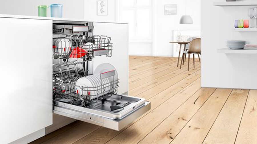Lave-vaisselle intégrable avec bandeau SMI6ECS57E Bosch