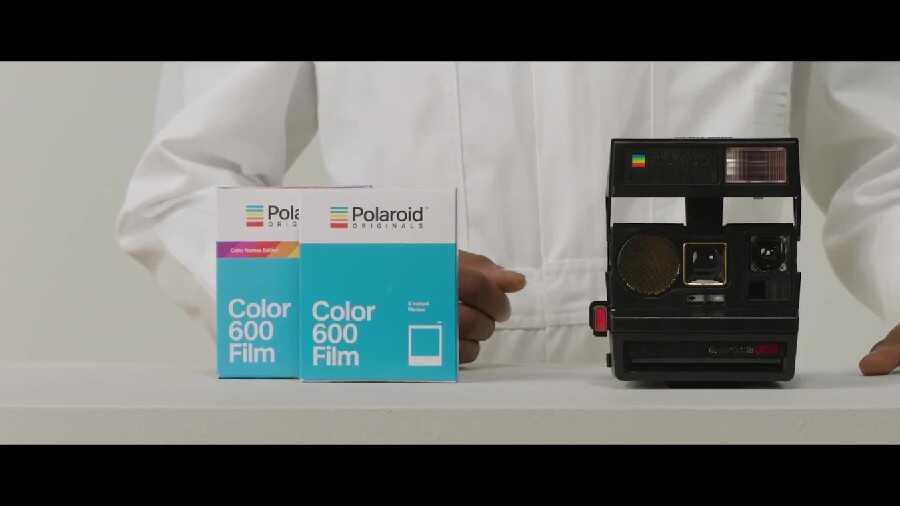 Test du film couleur Polaroid Originals 4672 pour appareil photo 600