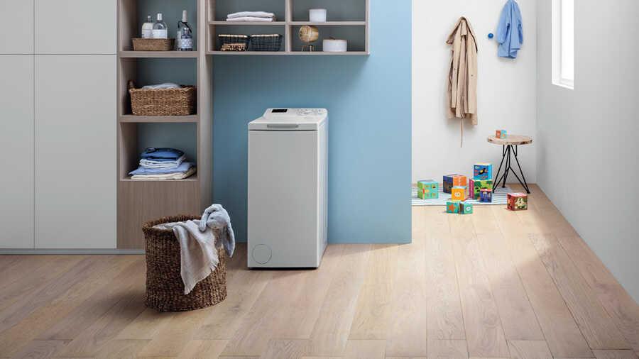Le lave-linge BTWPS 62300 FRN INDESIT