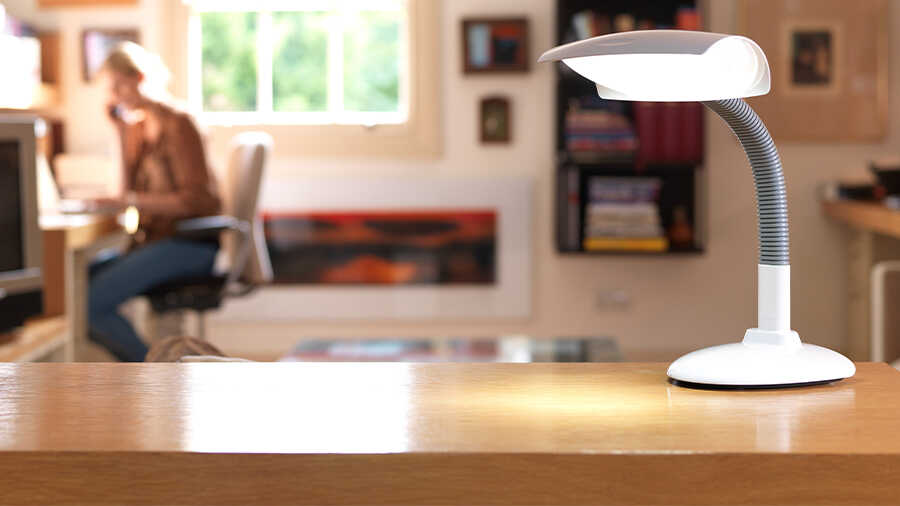 Lampe de luminothérapie DESKLAMP Lumie