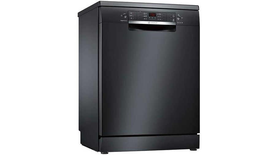 Lave-vaisselle pose-libre 60 cm Noir SMS46JB17E BOSCH