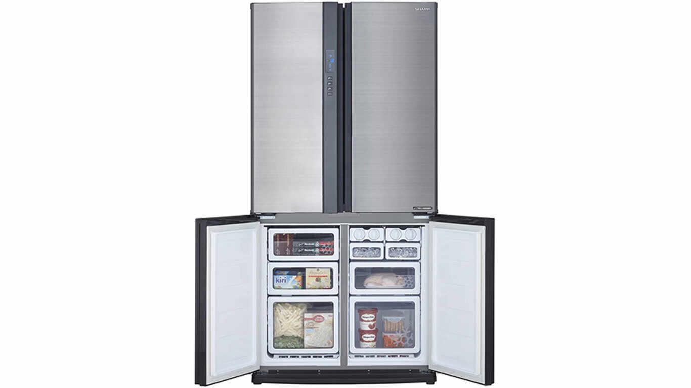 Réfrigérateur américain silencieux SHARP - SJ-EX770FSL