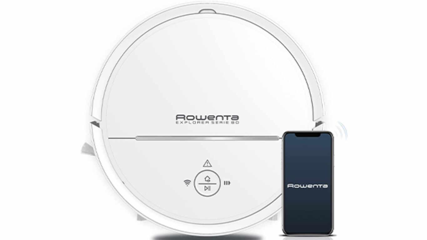 Aspirateur robot sans fil X-Plorer Serie 80 RR7747WH Rowenta