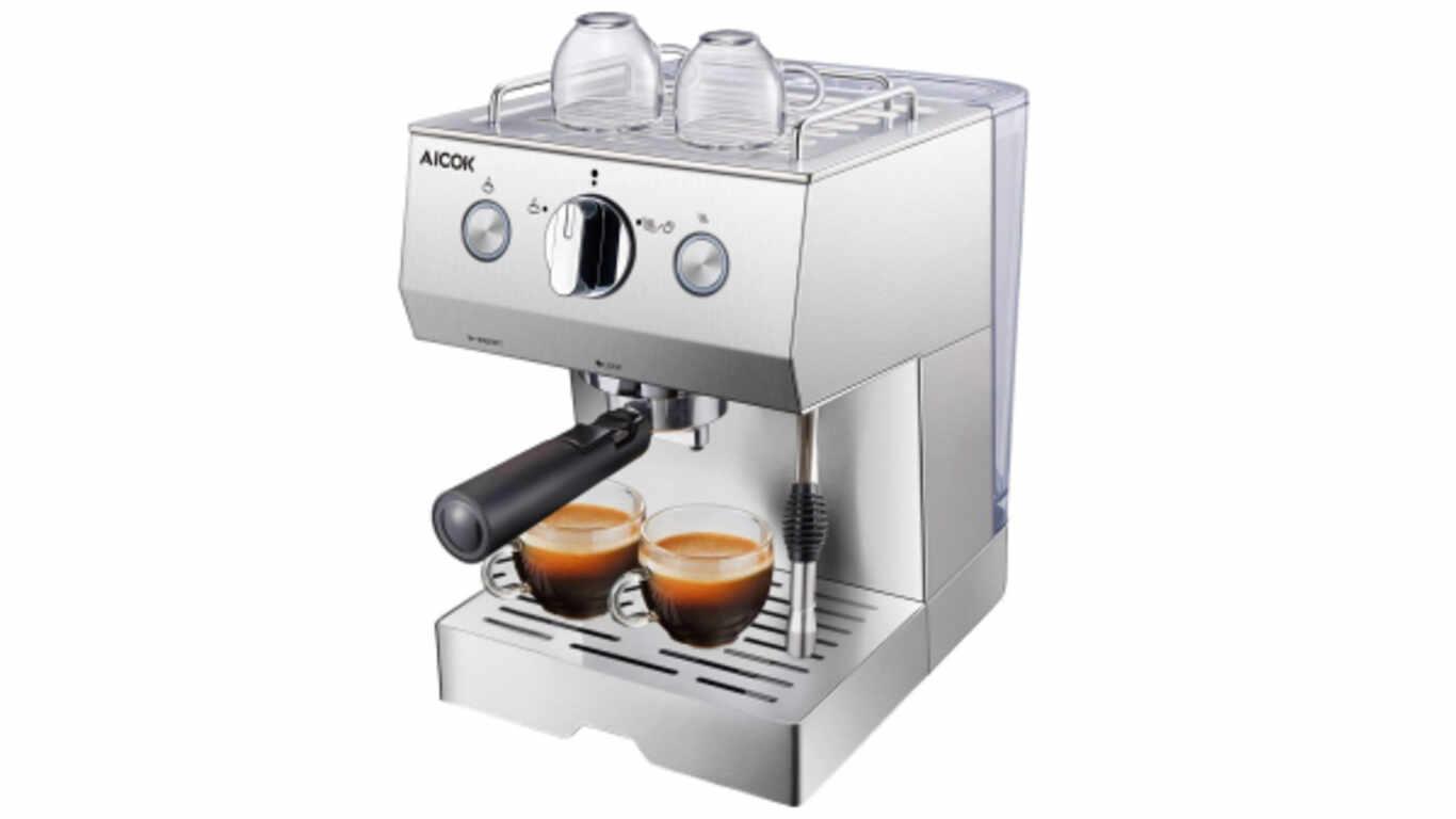 Machine à café expresso Aicok CM-6858