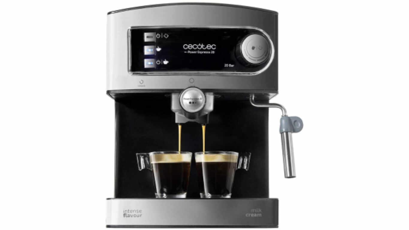 Machine à café expresso Cecotec Express Espresso 20