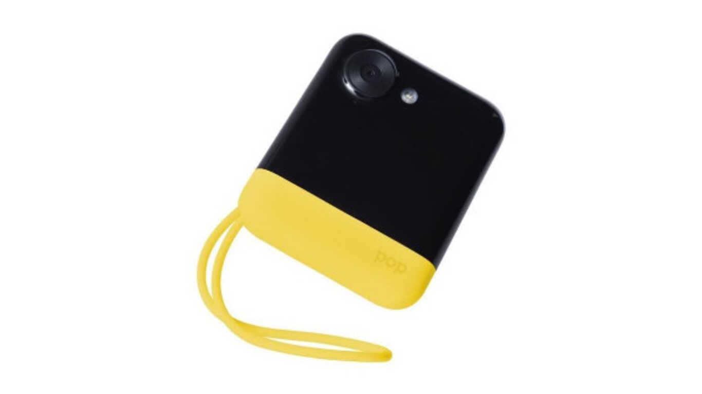 Test de l'appareil photo instantané Polaroid polpop1y- jaune