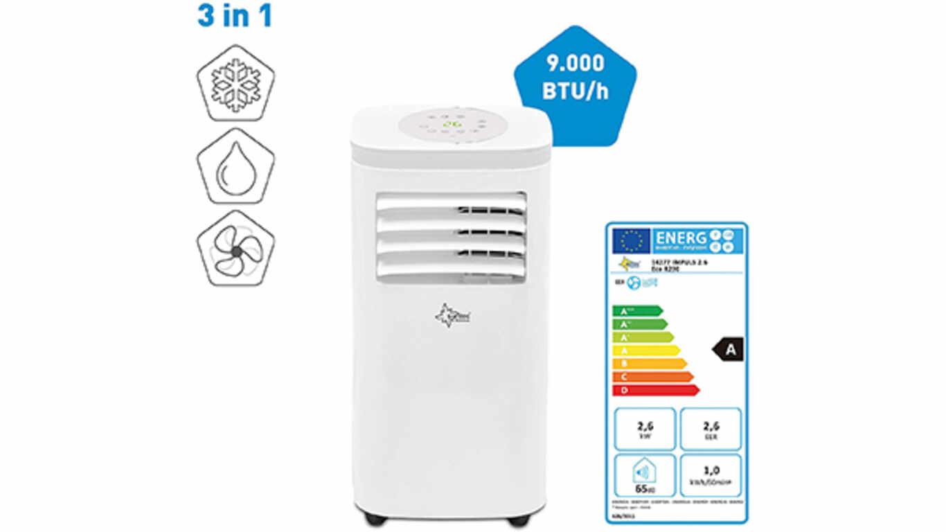 Climatiseur électrique 2.6 2600W-9000 BTU Impuls