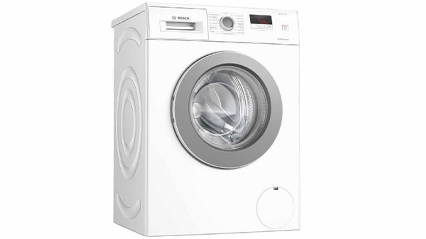 Le lave-linge front WAJ28067FF Bosch