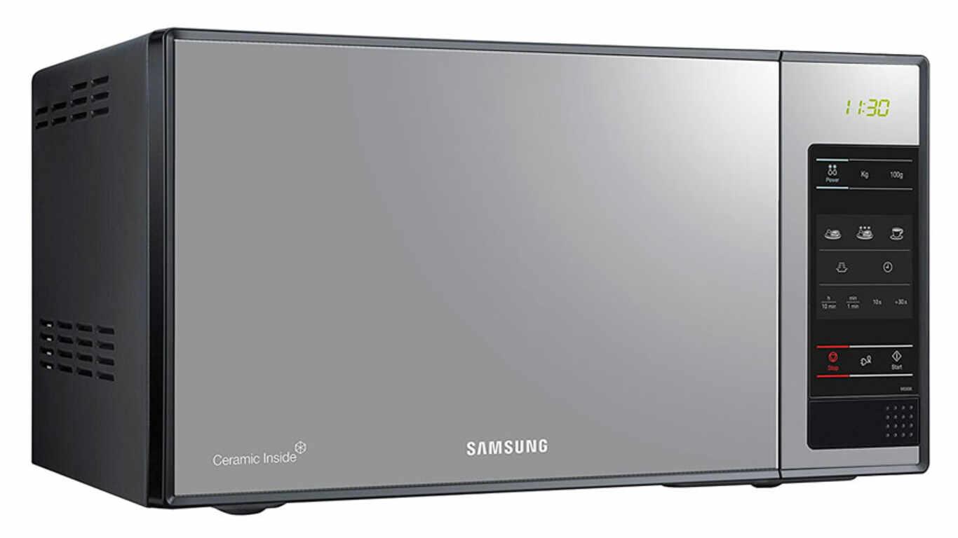 Test et avis du four micro-ondes ME83 X Samsung pas cher