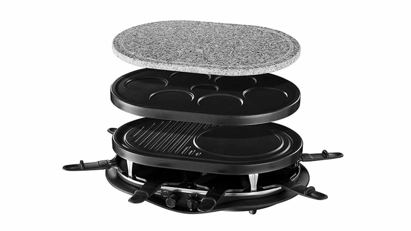 test et avis appareil raclette bestron grill raclette habitat. Black Bedroom Furniture Sets. Home Design Ideas