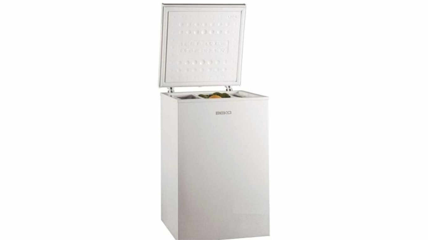 congelateur coffre beko HS-210520