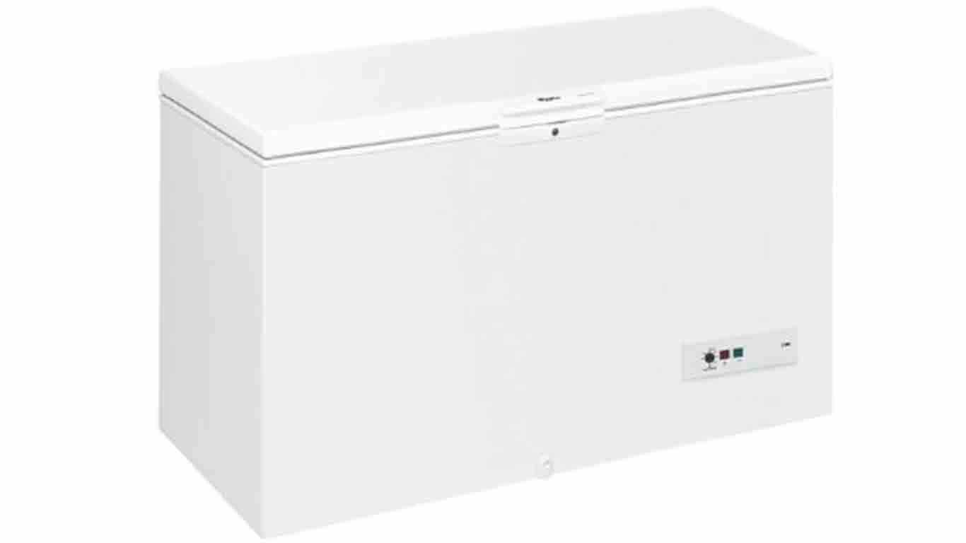 congelateur coffre whirlpool WHM4600