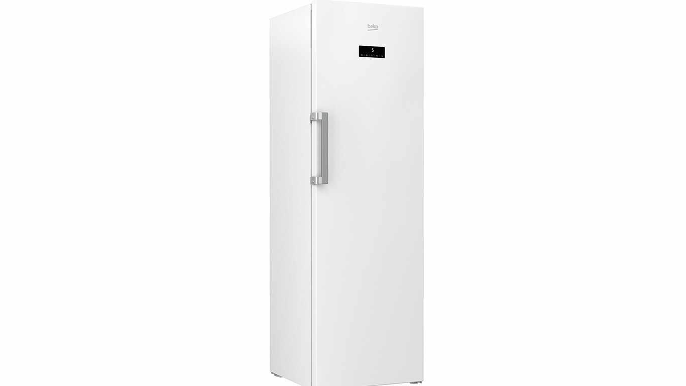 congelateur armoire Beko RFNE312E33W
