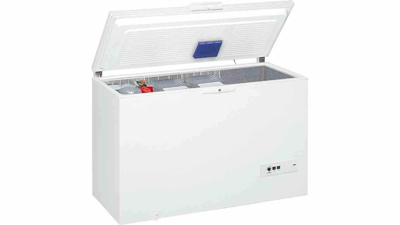 congelateur coffre whirlpool WHM39112